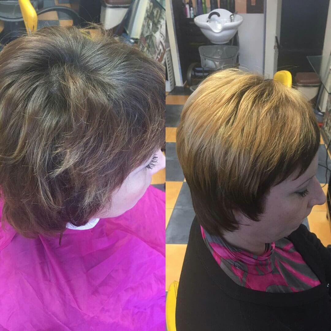 Окрашивание волос в Иркутске