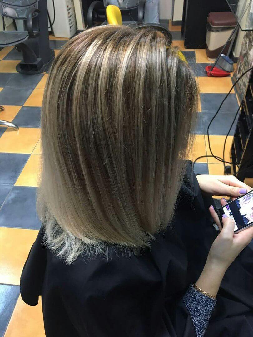Окрашивание волос Иркутск