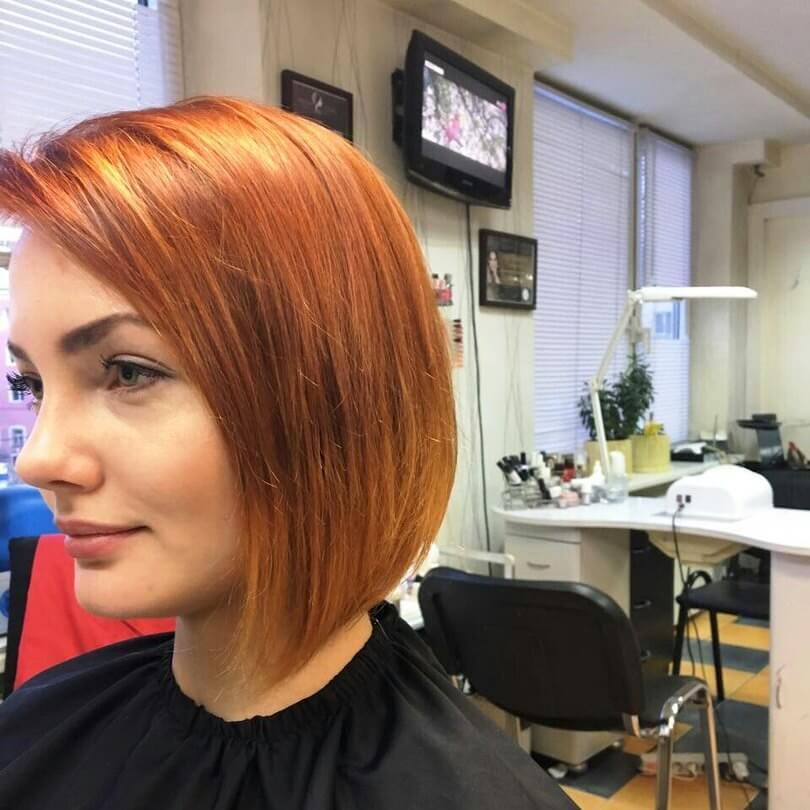 Короткая причёска