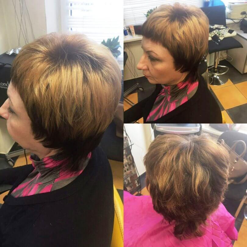 Обычная причёска
