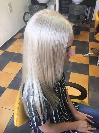 Высветление волос